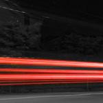 Misstänkt rattfyllo på mc stoppades på Liljeholmsbron