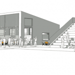 Första skisserna på Projekt Axelsberg