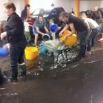 """""""Det rann vatten ner i vårt garage"""""""