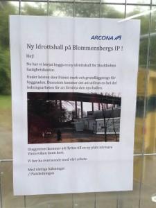 idrottshall blommensberg
