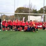 200 ungdomar i fotbollspropaganda