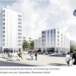 Axelsberg får ett helt nytt centrum