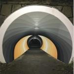 Så kan gångtunneln fyllas med färg