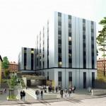 """""""Studenthuset tillåts avvika genom placering och utformning"""""""