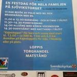 Festdag för hela familjen på Sjövikstorget söndag 31 maj