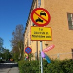 """""""Vi firar de nya trafikreglerna vid skolan"""""""