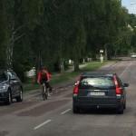 """""""Bygg en väl tilltagen cykelbana mellan Axelsberg och Mälarhöjden"""""""