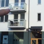 """""""Trut fast på balkong"""""""