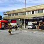 Brand i soprum i Örnsberg