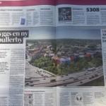 """""""Nackdel att projektet tar en del av stadens begränsade yta"""""""