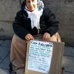 """""""Pengar behövs för mat och boende för hennes barn"""""""