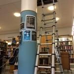 Fruängens bibliotek öppnar efter vattenläcka