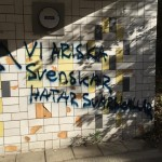 Varför reagerar ingen på rasistisk graffiti?