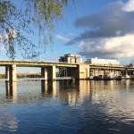 """""""Här kan en ny gång- och cykelbro till Hornstull byggas"""""""