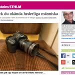 Historien om den bortglömda kameran
