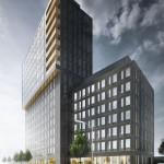Hotell med 16 våningar nytt landmärke vid stationen