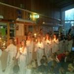 Så här firades lucia runt om i skolorna