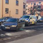 """Det var ett extremt pådrag med flera poliser med dragna vapen"""