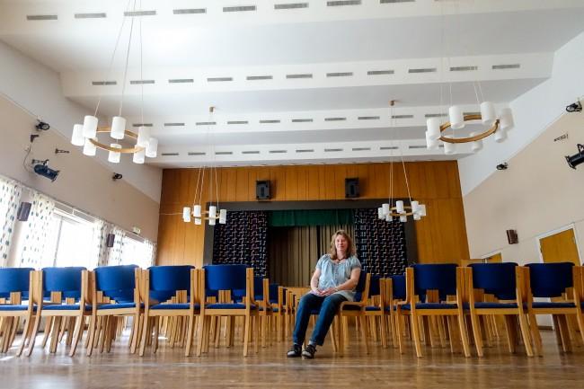 Katarina Rindefors, Föreståndare. Åsens Medborgarhus--1