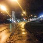 Bättre belysning i Skärholmens stadsdel