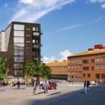 Snart byggstart för nya kvarteret vid Sjöviksbacken