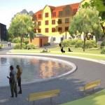 Så föreslås nya Svandammsparken se ut