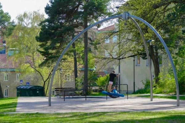Aspudden Park Grind Schlytersvägen 33. -4
