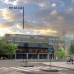 Nya bilder på nya skolan i Kransen