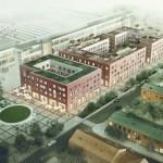 Designens hus rivs när 130 bostäder byggs