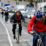 Bredare cykelbana på Liljeholmsbron
