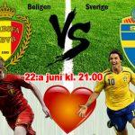 3 ställen du kan se Sverige-Belgien