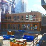 En ny förskola växer fram