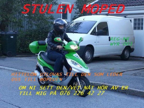 stulen moped
