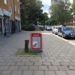 """""""Varför tog man ner två träd på gatan framför pizzerian?"""""""