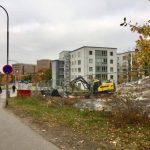 Byggstart på Stjernströms väg