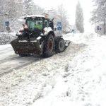 Rekordmycket snö påverkar trafiken