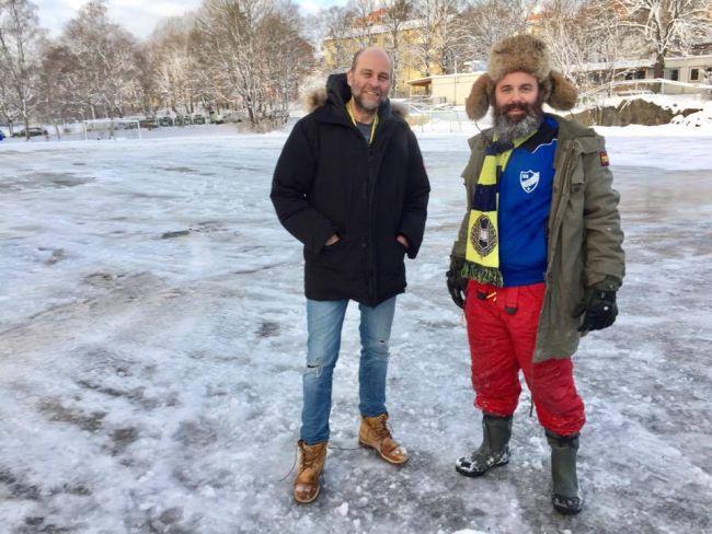 Magnus Lindgren och Schiaffino Musarra