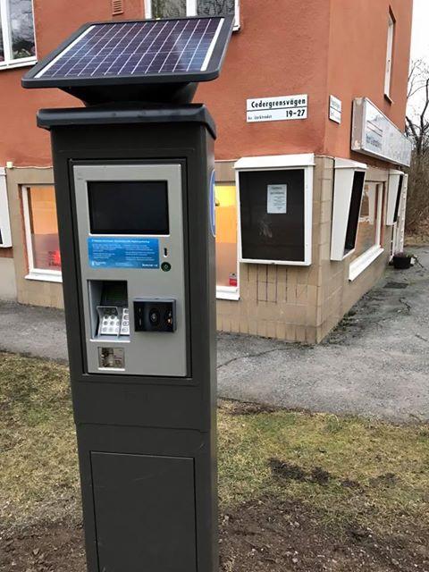 parkeringsautomat