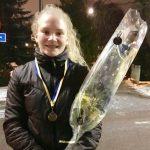 17-åriga Elin från Mälarhöjden vann SM-brons