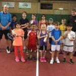 Sportlovsläger med tennisteknik