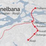 Så kopplas röda linjen ihop med nya tunnelbanan