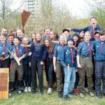 Örnsbergscouter sopade banan på Scouternas dag