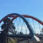 Nya bron i Västberga öppnar snart