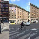 Väntytor för cyklister testas