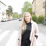 Kristina praktiserar som lokalredaktör i sina hemkvarter