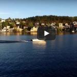 VIDEO: Med båt längs Mälarhöjdens sjösida