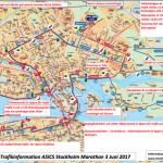 Så påverkas trafiken under Stockholm Marathon