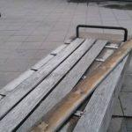 """Insändare: """"Vassa skruvar sticker upp ur betongen"""""""