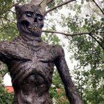 Mystisk figur funnen – nu lokal sevärdhet