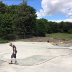Nya skateparken har öppnat